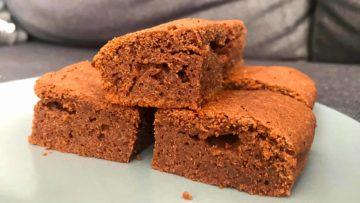 Moelleux au chocolat sans beurre, par Clemence