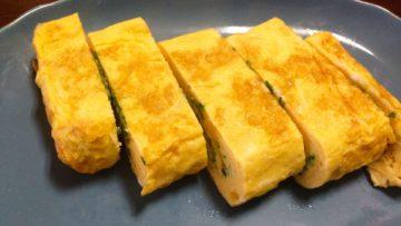 Omelette Japonaise Tamagoyaki: technique de préparation