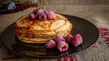 Recette de pancakes made in Cyril Lignac